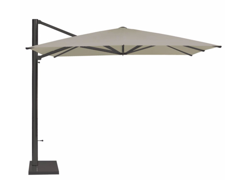 Offset square Garden umbrella SHADE 3X4 | Garden umbrella - EMU Group