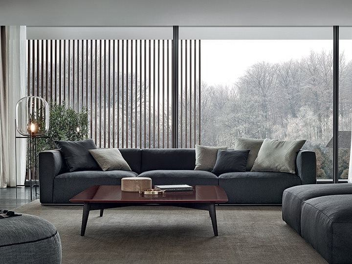 Shangai sofa shangai collection by poliform design carlo - Sofas italianos modernos ...