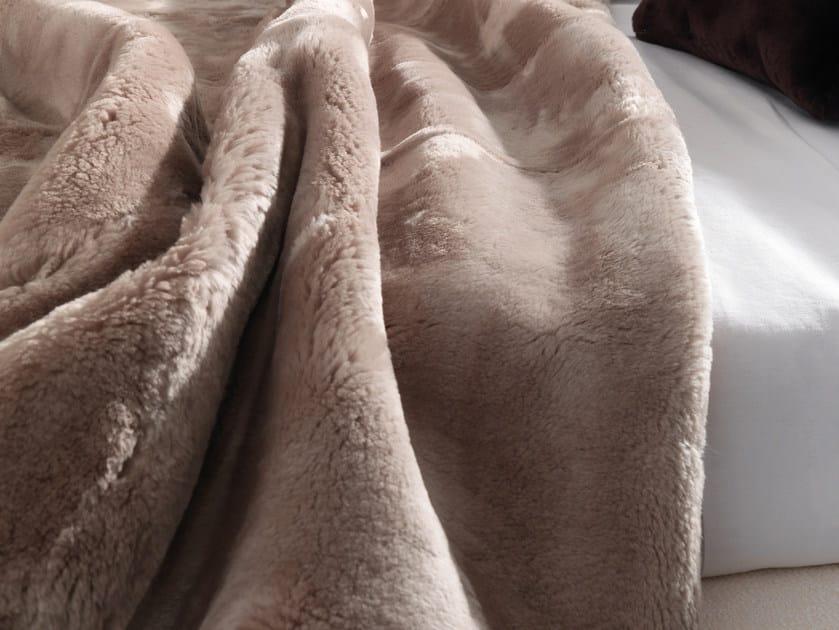Bedspread SHEARLING by Minotti
