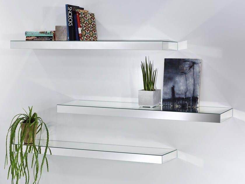 Glass wall shelf SHELF - DEKNUDT MIRRORS