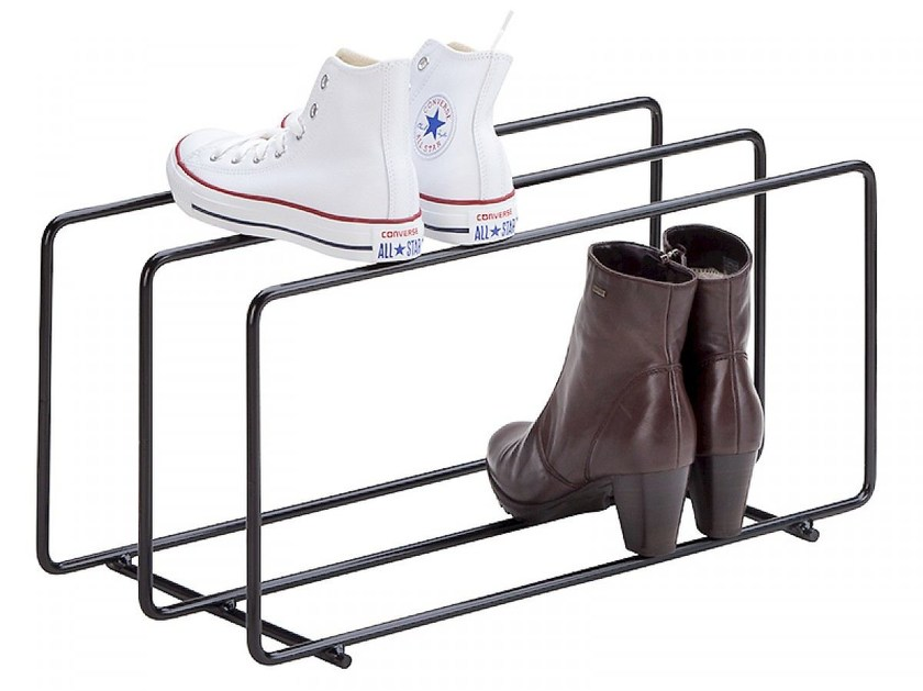 Metal shoe cabinet MIXRACK | Shoe cabinet by SHOWROOM Finland