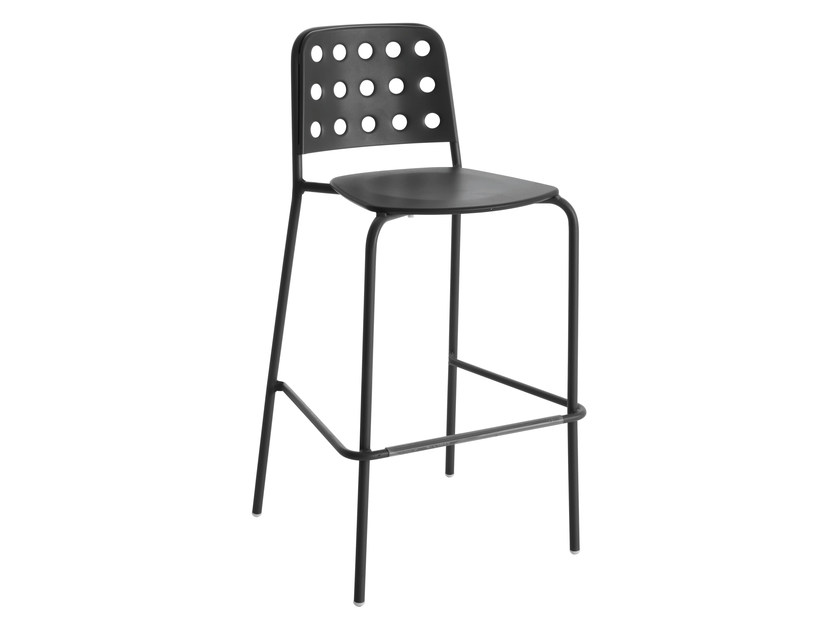 High stackable steel stool SHOT | Stool - EMU Group S.p.A.