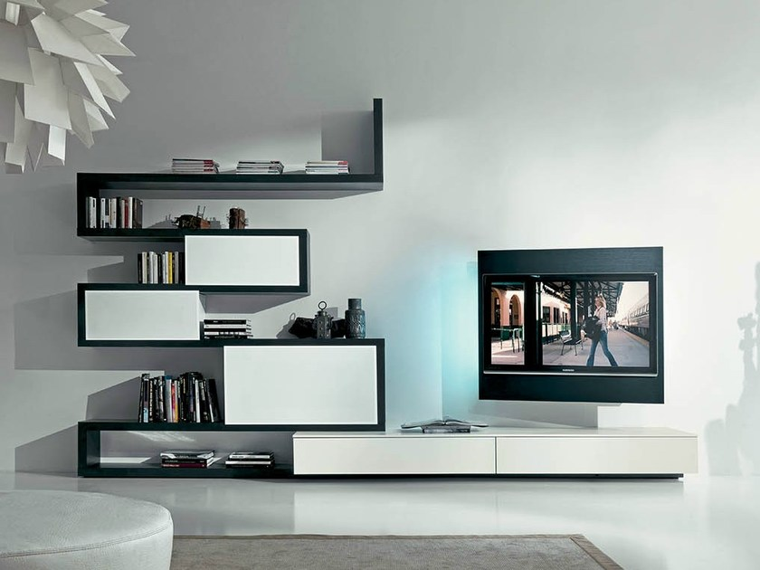 TV wall system SIDE 9 - Fimar