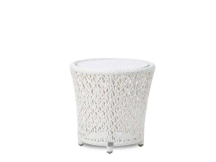 Round garden side table TUSCANY | Side table - 7OCEANS DESIGNS