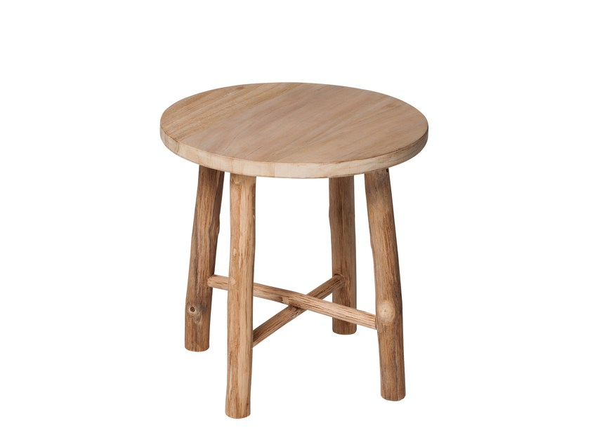 Teak stool / coffee table COTTAGE | Side table - 7OCEANS DESIGNS