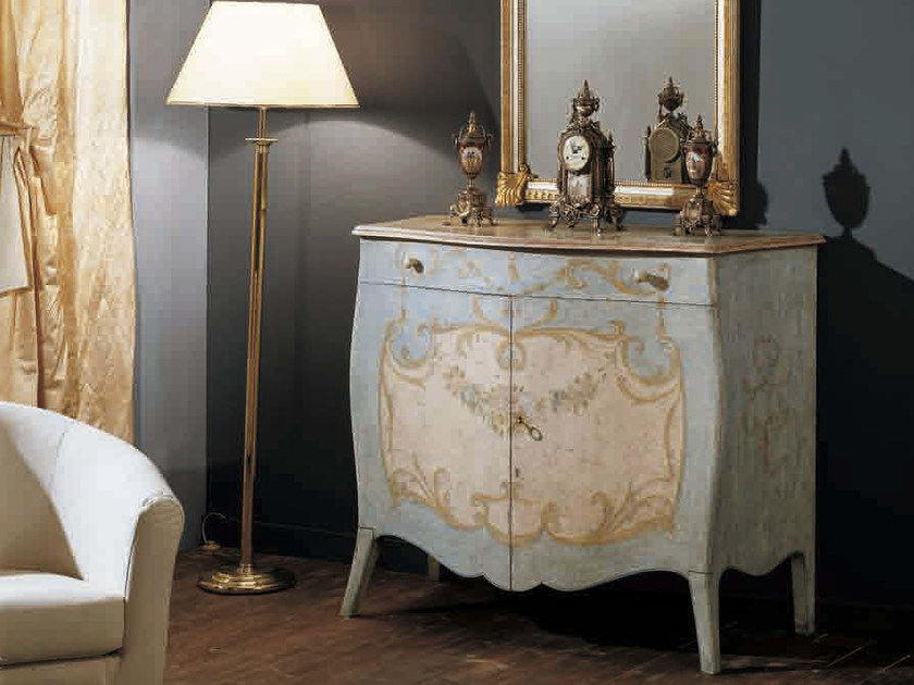 Lacquered sideboard with doors ARTU' | Sideboard - Arvestyle
