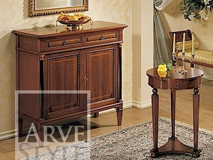 Solid wood sideboard with doors GALILEO | Sideboard by Arvestyle