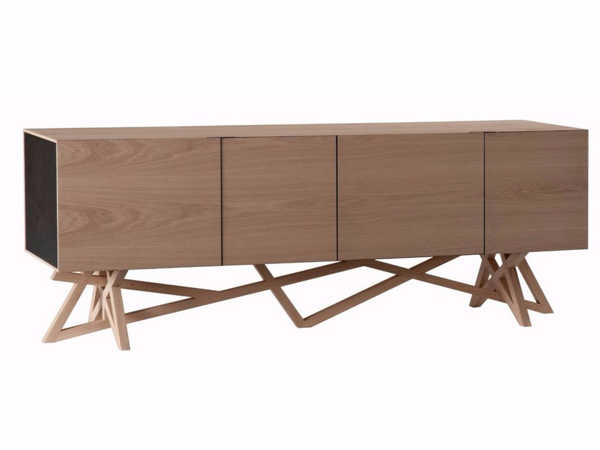 MDF sideboard with doors SAGA | Sideboard by ROCHE BOBOIS