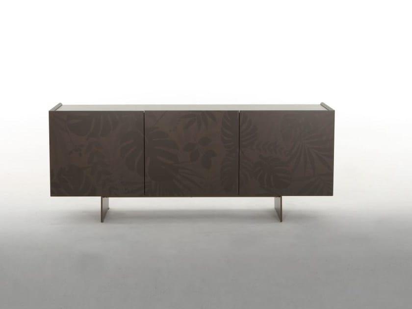 Wooden sideboard with doors KONG | Sideboard by Tonin Casa