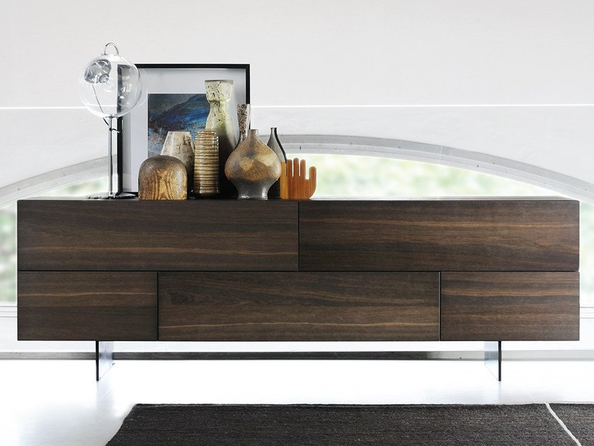 Sideboard with flap doors GRAPHOS | Sideboard with flap doors - Silenia