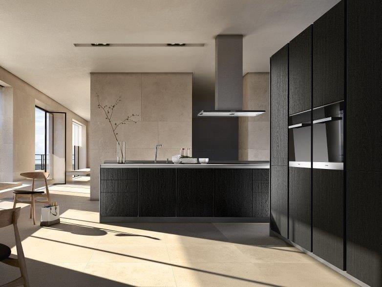 cucina con gola impiallacciata siematic pure s1 by siematic design martin dettinger kressel. Black Bedroom Furniture Sets. Home Design Ideas