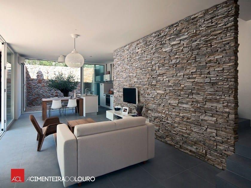 Rivestimento in calcestruzzo effetto pietra siena rivestimento per interni acl - Imitacion piedra interior ...