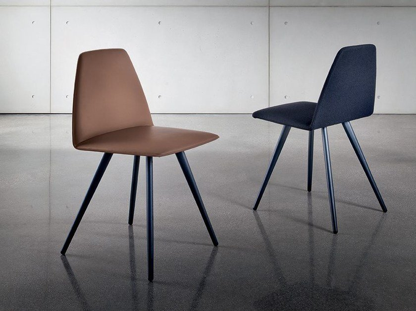 Upholstered chair SILA CONE SHAPED - SOVET ITALIA