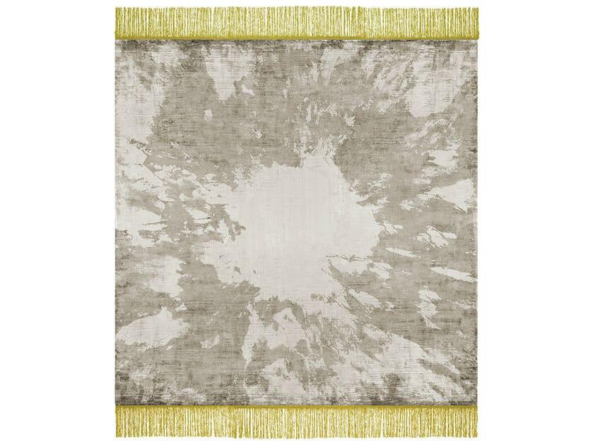 Handmade rectangular rug SILENT DISTANCE - HENZEL STUDIO