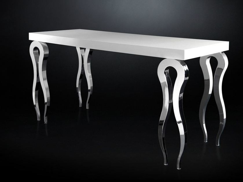 Rectangular MDF high table SILHOUETTE | Rectangular table - VGnewtrend