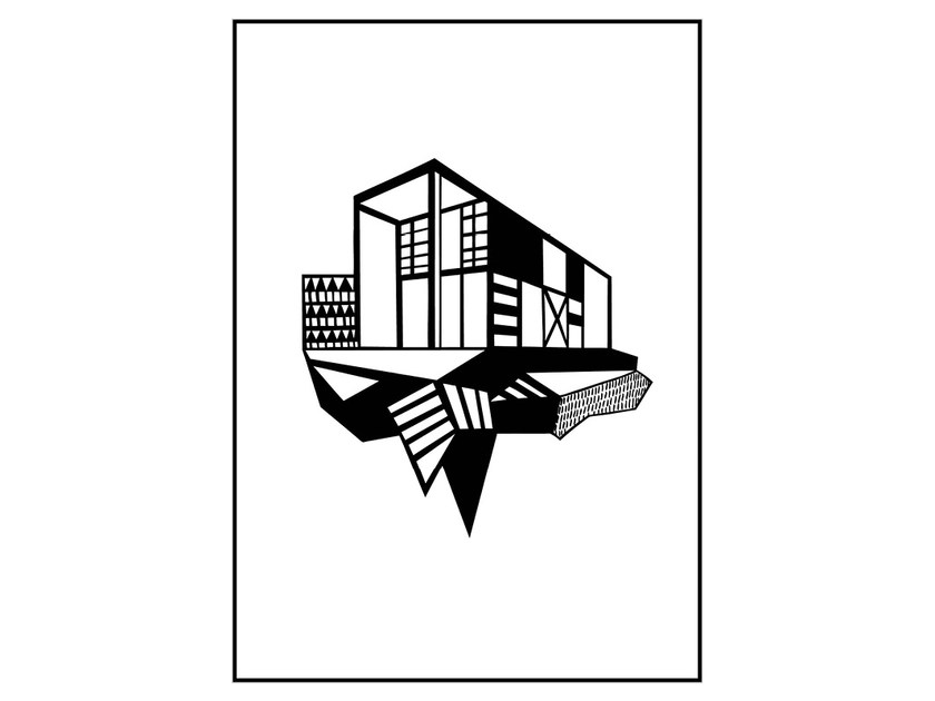 Poster SIMPLE HOUSE - Kristina Dam Studio