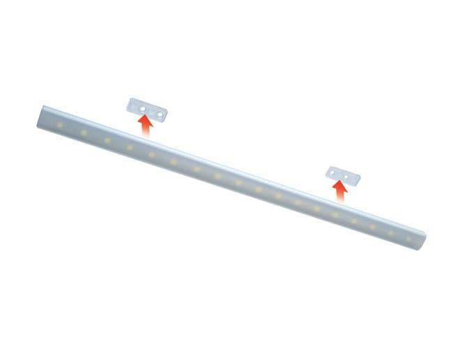 Clairage pour meuble barre lumineuse led en aluminium for Eclairage pour meuble