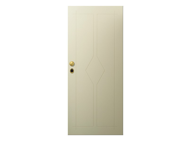 Door panel for indoor use LINEA SINTESI by Metalnova