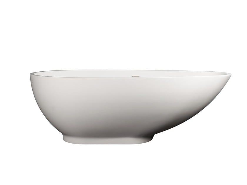 Freestanding Solid Surface® bathtub SIRMIONE by 7Baths