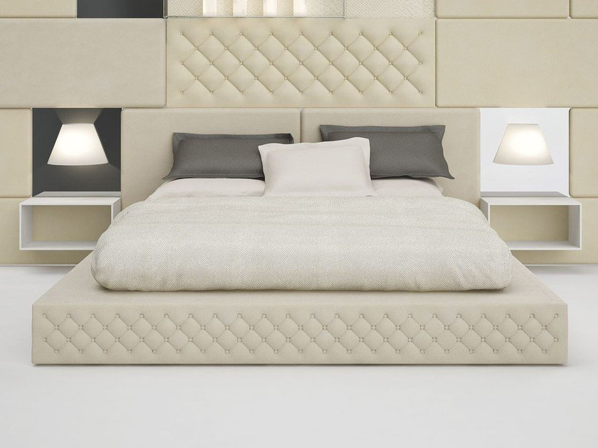 Polyester double bed SISSI - Paolo Castelli