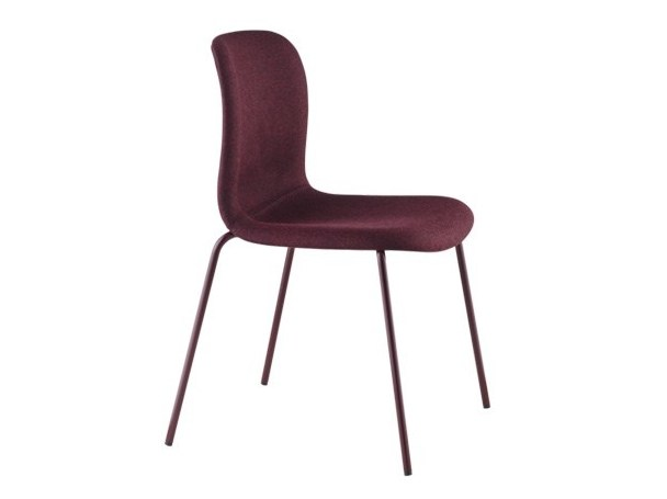 Stackable chair SIXE | Upholstered chair - HOWE