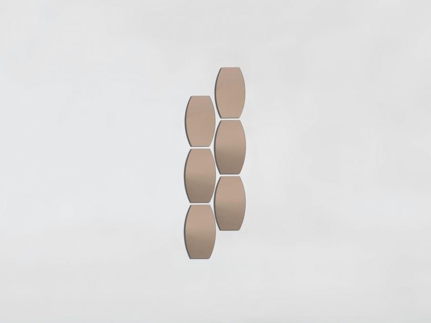 Wall-mounted mirror SKIN by Tonin Casa