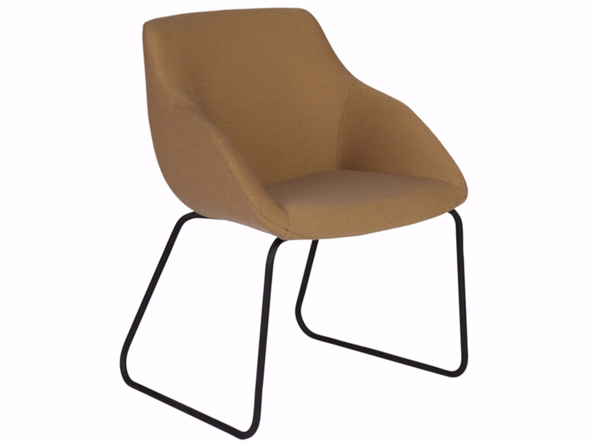 Sled base chair BLUE CONFERENCE - SLED - Palau