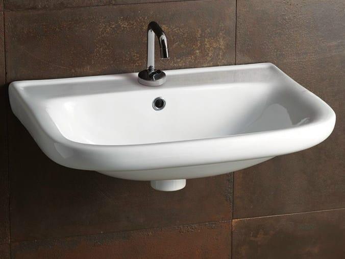 Ceramic washbasin SLEEPY 58 by Alice Ceramica