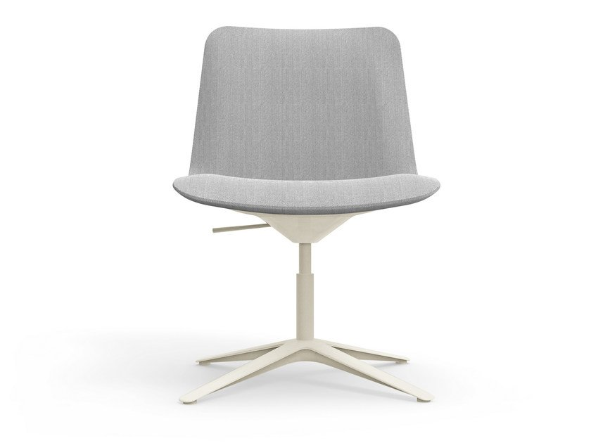 Height-adjustable chair with 4-spoke base SLIM CONFERENCE LOW 4 - 805 by Alias