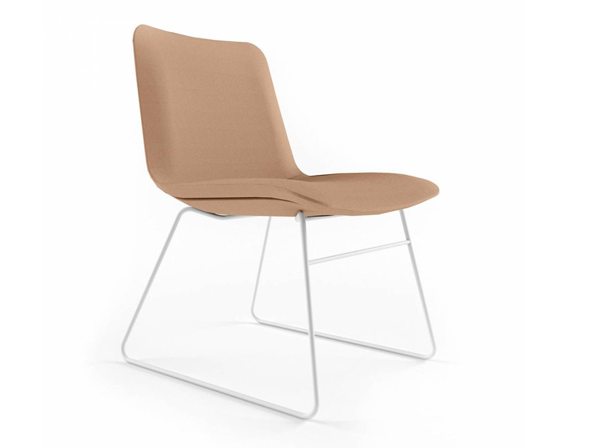 Sled base easy chair SLIM CONFERENCE LOW - 827 - Alias