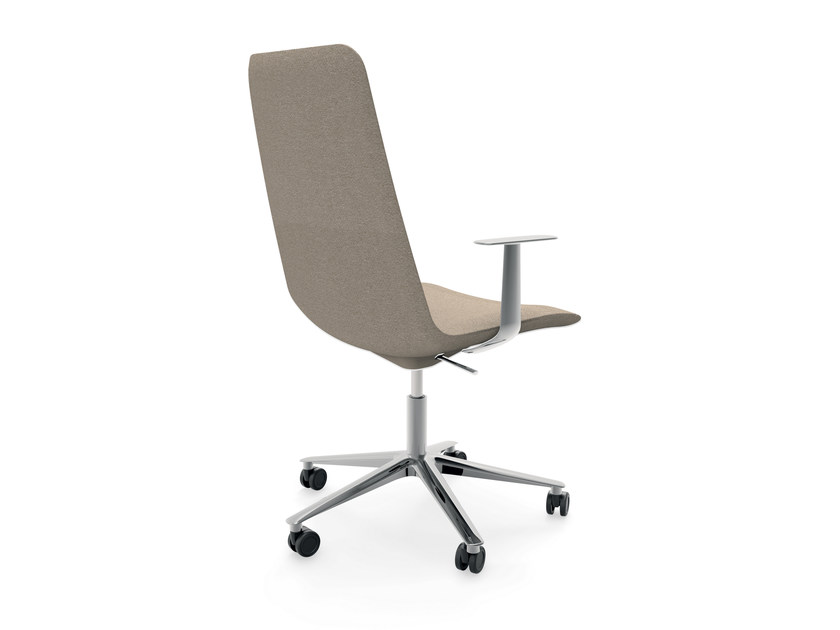 Swivel height-adjustable chair with armrests SLIM CONFERENCE MEDIUM 5 - 824 - Alias