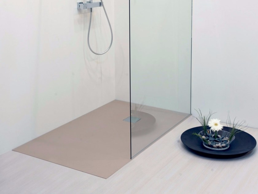 Flush fitting rectangular shower tray SLIM | Flush fitting shower tray - LASA IDEA