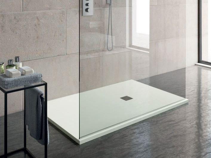 Rectangular custom shower tray SLIM   Shower tray by LASA IDEA