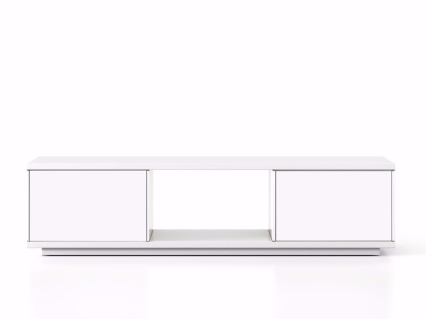 Lacquered wooden sideboard with doors SLT003 | Sideboard with doors - Punt
