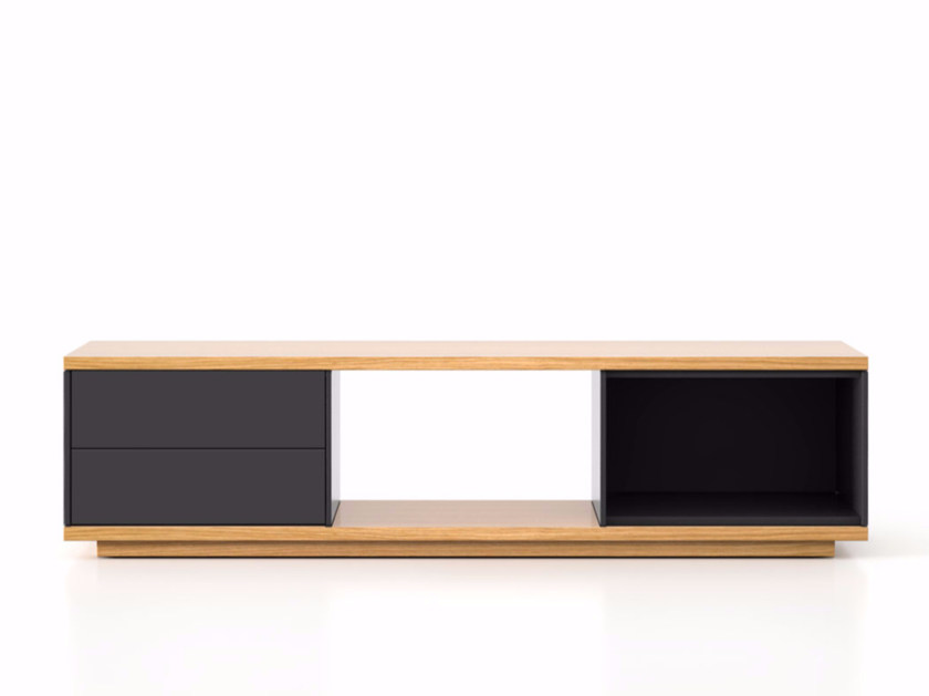 Lacquered wooden sideboard with drawers SLT004 | Sideboard with drawers - Punt
