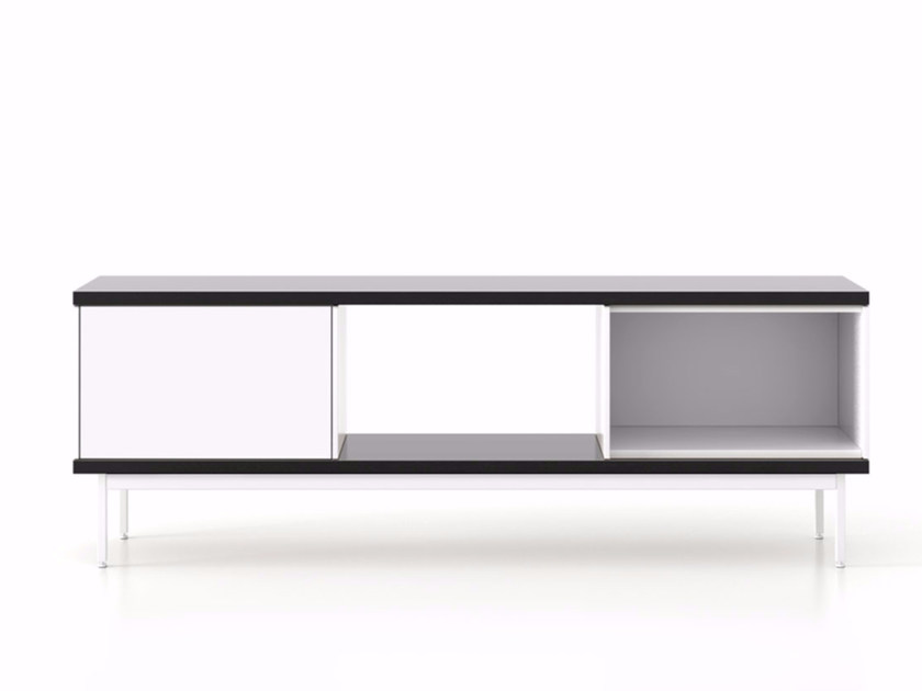 Lacquered wooden sideboard with doors SLT012 | Lacquered sideboard - Punt