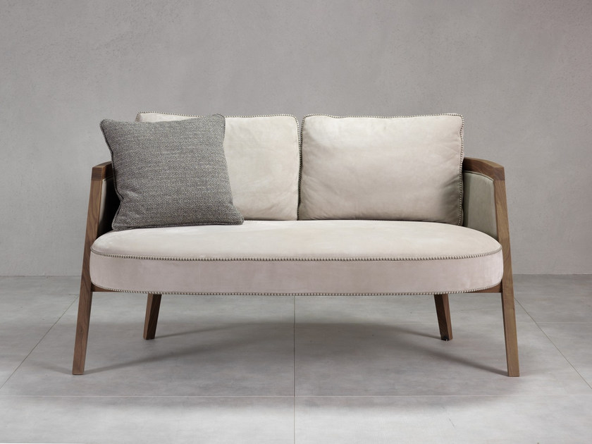 Contemporary style fabric small sofa COCOON | Small sofa - Pacini & Cappellini
