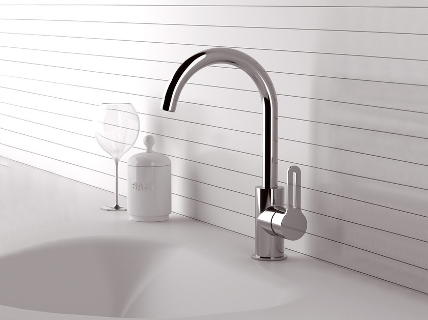 Countertop kitchen mixer tap with swivel spout SMART | Countertop kitchen mixer tap - Daniel Rubinetterie