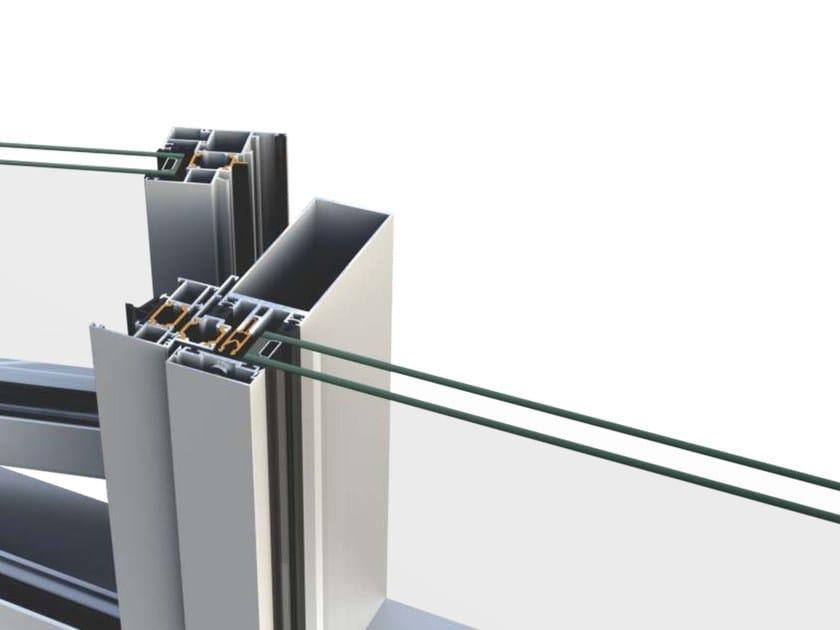 Sistema per facciata continua SMARTIA M7 - Alumil