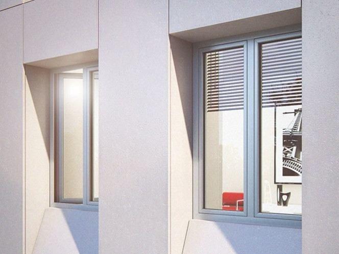 Aluminium window SMARTIA M9660 - Alumil