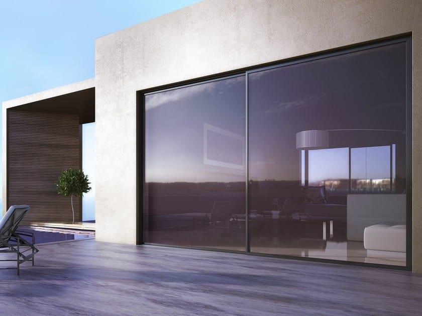 Porta finestra scorrevole smartia s560 alumil - Aprire finestra muro esterno ...