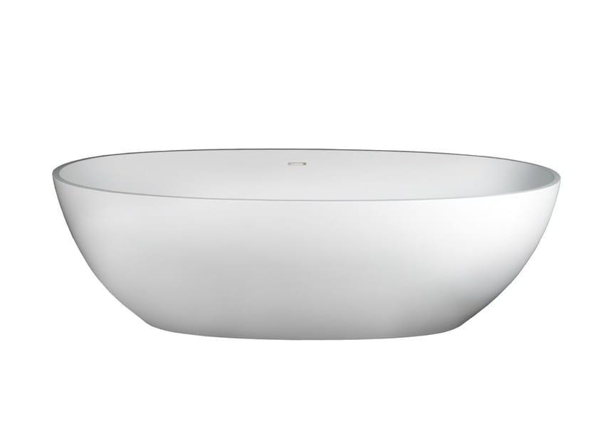 Freestanding Solid Surface® bathtub SMERALDA by 7Baths