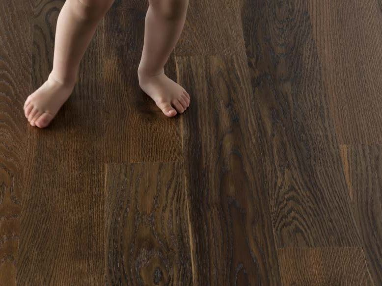English oak parquet SMILE QUERCIA THERMO - GAZZOTTI