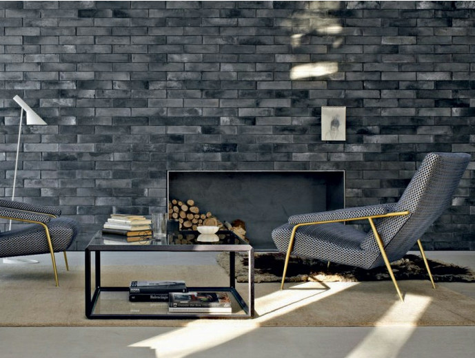 Fair faced clay brick SMOKED BRICKS - FORNACE S. ANSELMO
