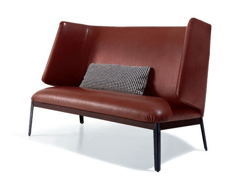 Upholstered high-back fabric sofa HUG   High-back sofa - arflex