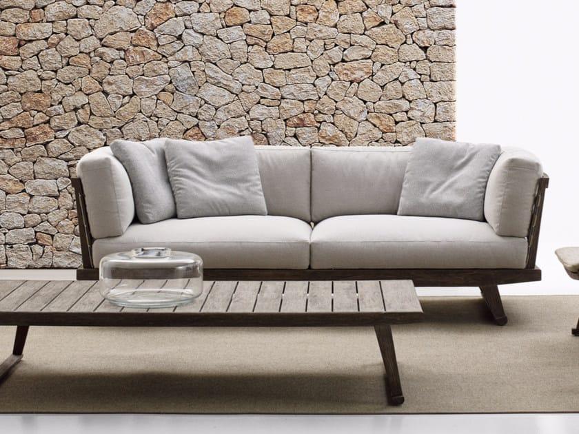3 seater garden sofa GIO | Sofa - B&B Italia Outdoor, a brand of B&B Italia Spa