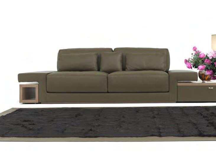 3 seater leather sofa UFFIZI | Sofa - Formitalia Group
