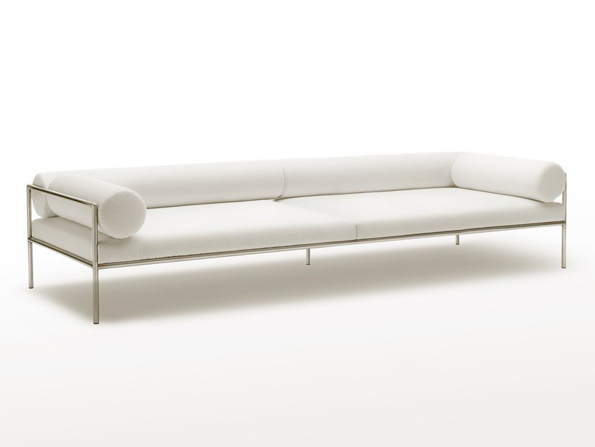 Fabric sofa with removable cover AGRA | Sofa - Living Divani