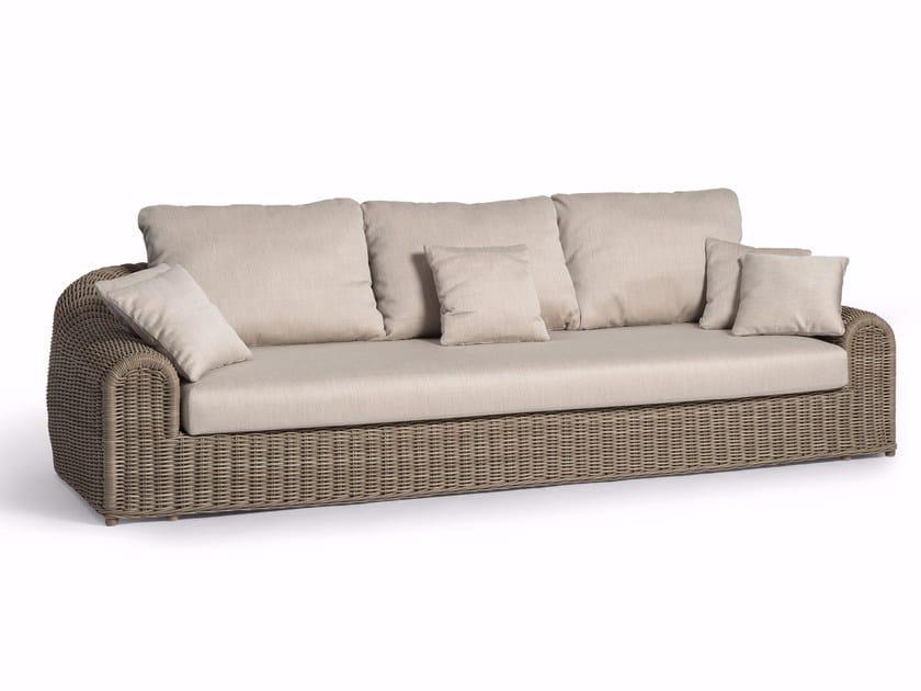 3 seater sofa RIVER | Sofa by MANUTTI