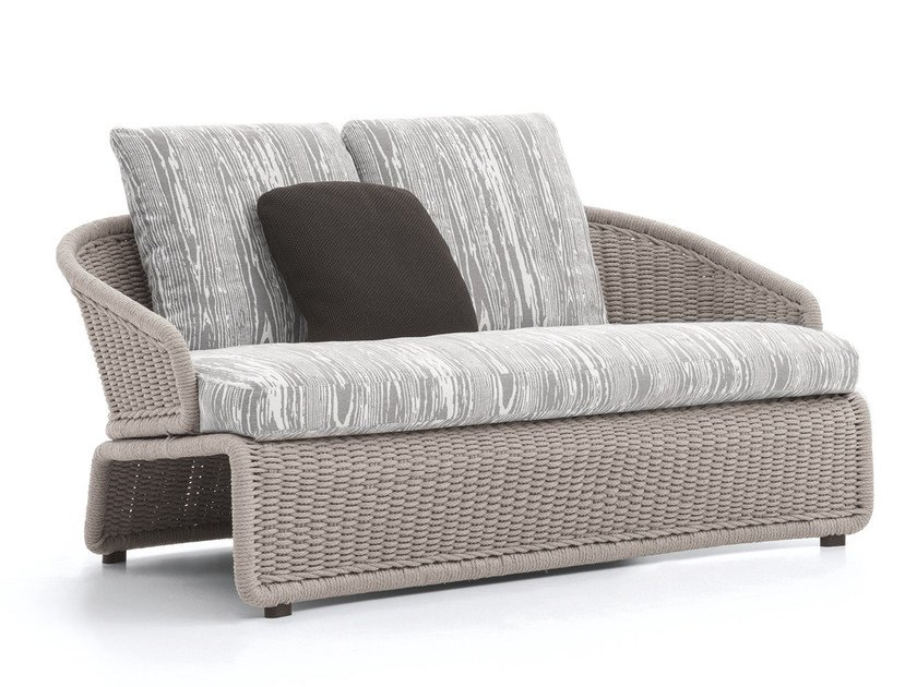Outdoor sofa HALLEY OUTDOOR | Sofa by Minotti